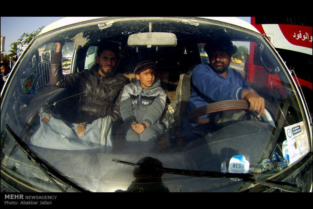 بازگشت زائران اربعین حسینی از کربلا / راهپیمایی اربعین ۵۶