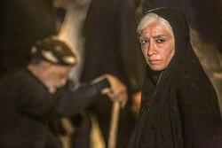 "Pantea Panahiha acts in a scene from director Ebrahim Hatamikia's movie ""Exodus""."