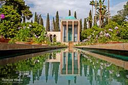 Mausoleum of Persian poet Sheikh Muslih od-Din Sadi Shirazi, Shiraz. (Tehran Times/Amin Berenjkar)