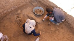 Flashfloods reveal archaeological site in northeast Iran