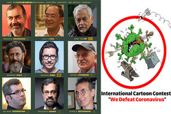 Iran's We Defeat Coronavirus International Cartoon Contest