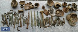 Police seize Iron-Age relics in northern Iran
