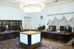 Rouhani meeting