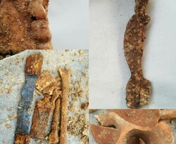 Coronavirus: grave of Parthian warrior accidentally unearthed in Iran