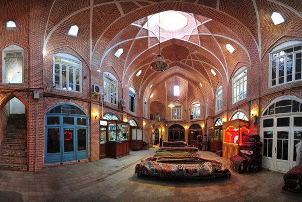 historic bazaar of Tabriz