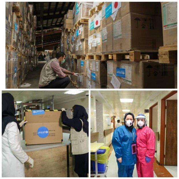 UNICEF sends fifth shipment of anti-corona aid to Iran