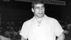 Legendary Iranian Olympic gold-medalist wrestler Gholamreza Takhti.