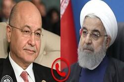 Hassan Rouhani, Barham Salih