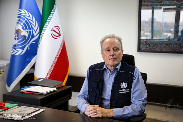 WHO representative briefs Iran's efforts in fight against COVID-19