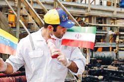 Venezuelans welcome Iranian tanker