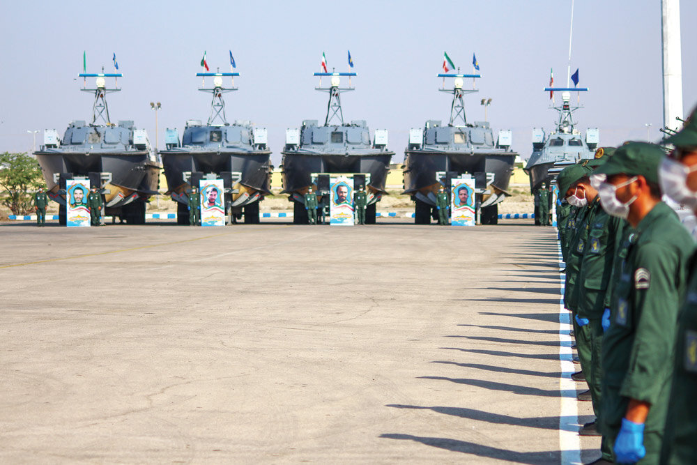 Iran's IRGC gets 112 missile-launching speed boats