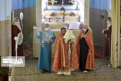 Churches in Tehran observe social distancing