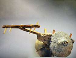 File photo depicts a terracotta model of a chariot used by the Kura–Araxes people, 4th-3rd millennium BC.