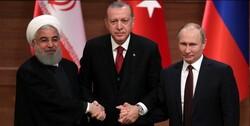 Rouhani, Putin,Erdogan