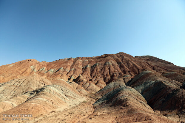 Welcome to incredible rainbow mountains in northwest Iran!