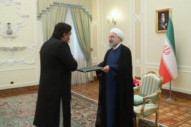 Hassan Rouhani, Pakistani ambassador