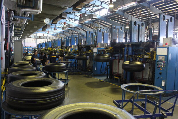 Tire production jumps 26% in 2 months