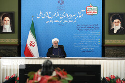 Rouhani inaugurates 10 major water, electricity projects