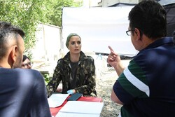 "Lebanese actress Anne-Marie Salameh joins ""Shark"" cast in Tehran"