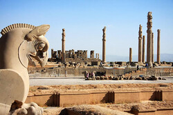 A view of the UNESCO-registered Persepolis in Fars province, southern Iran