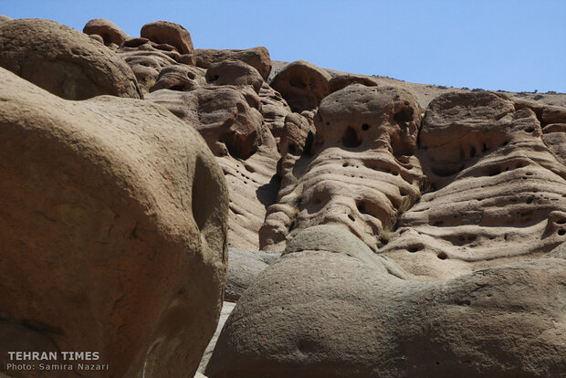 Discover bizarre landscape most like horror, science fiction movies near Tehran!