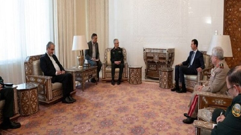 Syrian president says Tehran-Damascus military agreement is result of years of cooperation