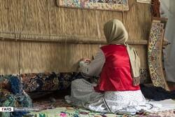 hand-woven Iranian carpets