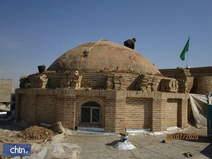 Safavid-era shrine in Markazi province under restoration