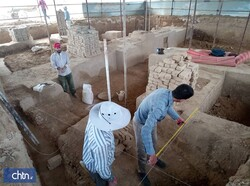 Archaeological research works in Rivi started in 2012. Since then archaeologists accessed remains of settlements from the Bronze and Iron Age, the Achaemenid, the Parthian, the Sassanid dynasties, and the early Islamic period.