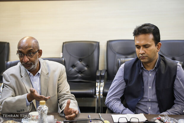 Indian envoy conducts exclusive interview during visit to Tehran Times