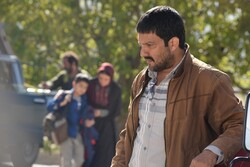 "Hamed Behdad acts in a scene from Reza Mirkarimi's drama ""The Castle of Dreams""."