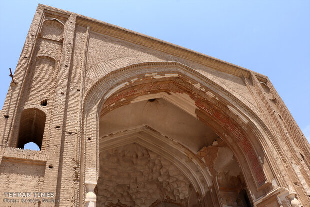 Very quiet and deserted but beautiful: the 12th-century Jameh Mosque of Saveh