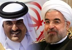 Rouhani, Qatari emir