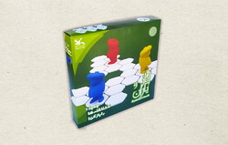 "A box of the Iranian board game ""Ayaz & Friends""."