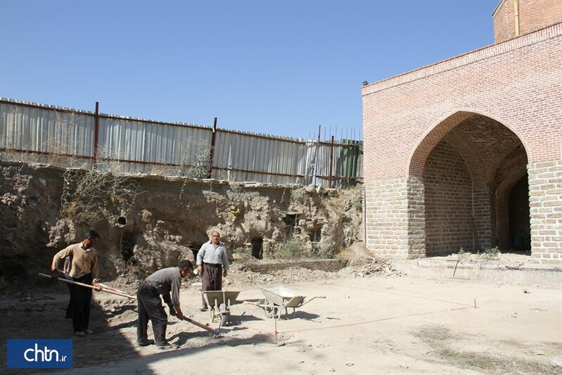 Jameh Mosque of Urmia undergoes new round of excavation