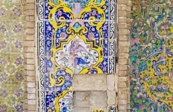 Golestan Palace's tiles