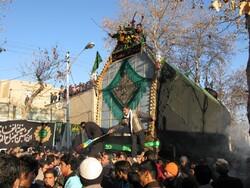 Muharram mourning rituals: Nakhlgardani in Shahroud