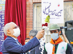 Iran reopens schools under strict health protocols