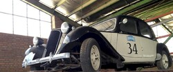 1953 Citroen ends round-the-globe rally at Royal Cars Museum in Tehran