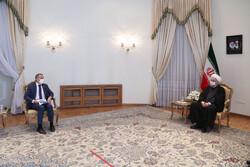 Ignazio Cassis, Hassan Rouhani