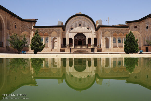 Kashan, home to architectural wonders, labyrinthine bazaars