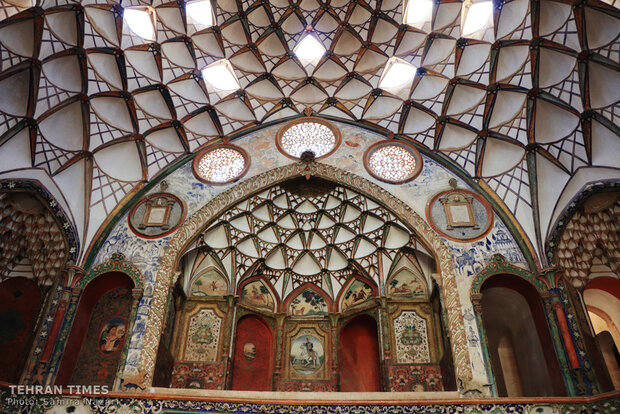 Kashan, home to architectural wonders, labyrinthine bazaars