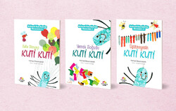 "Photo: This photo shows the Turkish copy of Iranian children's book writer Farhad Hassanzadeh's series ""Kuti Kuti Stories""."