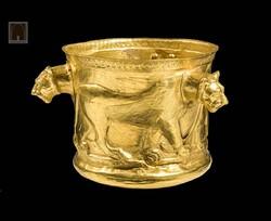 Masterpieces of Persian artat National Museum of Iran: Kelardasht Golden Cup