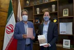German diplomat visits National Museum of Iran, discusses ways to expand ties