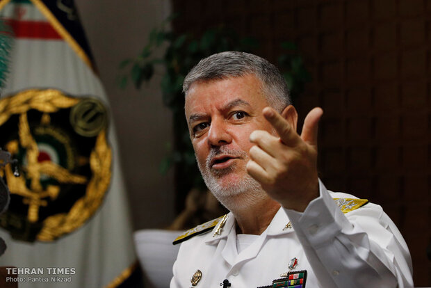 Navy Chief sits down with Tehran Times for exclusive interview