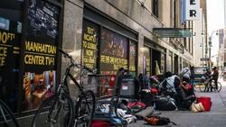 Americans homeless