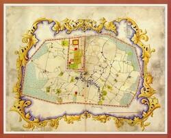 oldest maps of Tehran