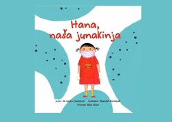 """Front cover of the Croatian translation of """"Hannah, Our Hero""""."""