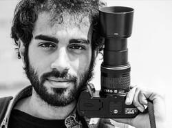 Iranian photographer Reza Mozaffarimanesh in an undated photo